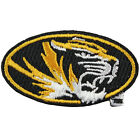Missouri Tigers Official Round Logo Embroidery Iron On Patch Hat Football NCAA