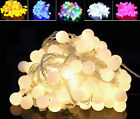 100m Waterproof 600 Balls LED String Lights Party Christmas Outdoor Decor Xmas