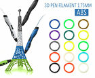 3rd 3D Drawing Printer Pen Modeling w/ 20pcs 1.75mm Print ABS/PLA Filament Gifts
