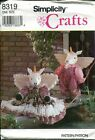 """Simplicity 8319 20"""" Boy and Girl Unicorn and Clothes  c1993   *Uncut*"""