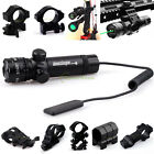 Green Dot Laser Sight W Switch W Picatinny Mount For Hunting Rifle Archery Bow
