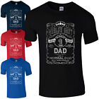 World's Best Dad T-Shirt Gifts for Dads Fathers Day Present No.1 Funny Mens Gift
