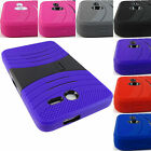"FOR ALCATEL ONE TOUCH PIXI 7 7.0"" RUGGED HYBRID ARMOR EXO CASE COVER+STYLUS"
