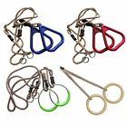 Rope rings for Play tower Flying Triangel Swing Gymnastic New