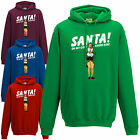 SANTA! I KNOW HIM! Hoodie Funny Buddy The Elf Inspired Christmas Gift Hoody Top