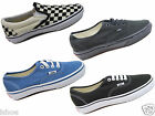 MENS WOMENS VANS AUTHENTIC CANVAS CASUAL CLASSIC PUMPS TRAINERS SHOES SIZE 3-10