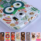Cute many owls special animal TPU gel Case Cover Skin For Samsung Galaxy S6 Edge