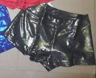 NWT Capezio Foil Booty Shorts Ladies Sizes  9876B Bright elements 3 colors offrd