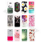 For LG Sony Cartoon Pictorial Soft TPU Fresh Silicone Rubber Gel Back Cover Case