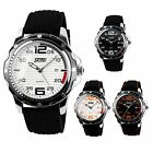 SKMEI® Luxury Men's Casual Stainless Steel/Rubber Band Date Analog Quartz Watch