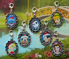 CHRISTMAS DISNEY CLIP ON CHARM PHONE HANDBAG BRACELET STITCH TINKERBELL MICKEY