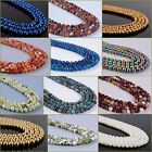 6mm round sphere Loose Gemstone DIY jewelry making beads strand 16""