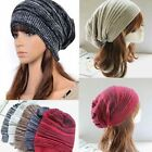 New Women/Men Knit Baggy  Beanie Hat Winter Warm Oversized Ski Cap Unisex Gift