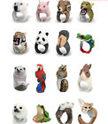 2015 Free Shipping Cool Personality Cute Creative Animal 3D Ring for Women Girl