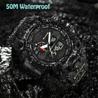 SKMEI® Men's S-SHOCK Waterproof Sport Army Alarm Date Analog&Digital Wrist ...