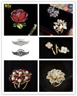 Lots Hot Trio Crystal Scarf Ring Holder Scarf Buckle Silk Scarf Women Jewelry