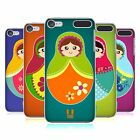 HEAD CASE DESIGNS MATRIOSKE COVER RETRO PER APPLE iPOD TOUCH MP3