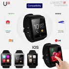 Best Uwatch U11 Bluetooth 4.0 Smart Watch Phone Mate for IOS Android Smartphone