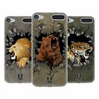 HEAD CASE DESIGNS FURIA ANIMALESCA COVER MORBIDA IN GEL PER APPLE iPOD TOUCH MP3