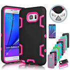 ShockProof Hybrid Rugged Rubber Defender Case Cover For Samsung Galaxy Note 5