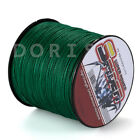 Spider 100M-2000M 6-300LB Test Moss Green 100%PE Dyneema Braided Fishing Line