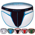 6 COLORS New Sexy Men's Underwear Cotton Briefs Shorts Bottoms Underpants S M L