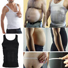 Mens Body Slimming Tummy Shaper Vest Belly Waist Girdle Shirt Underwear Shapewea