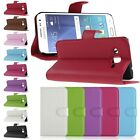 PU Leather Folio Wallet Card Holder Stand Cover Case For Samsung Galaxy J2 J200