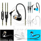 3.5mm In-Ear TPE Running Earbuds Earphones Microphone Headset IPX5 Sweat Proof