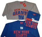 New York Giants NFL Gray/Blue Short Sleeve T-Shirt-Combo Pack-Adult 2XL-NWT