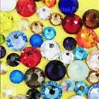 72 Genuine Swarovski ( NO Hotfix ) 34ss Crystal Rhinestone Assorted Colors ss34
