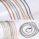 Wholesale Silver/Gold/Rose Gold/Black 600mm Pendant For Necklace Long Chain Hot