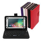 "iRULU 7"" Tablet PC 3G Phablet 8G Android 5.1 Lollipop Dual SIM GPS w/ Keyboard"