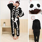 Hot Unisex Adult Pajamas Kigurumi Cosplay Costume Animal Onesi Sleepwear Suit
