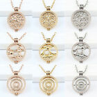 Classic My Coins Pendant Necklace Set v 33mm Crystal Disc & Large Moneda Keeper