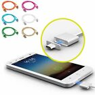 Magnetic Braided Aluminum Micro USB Data&Sync Charger Cable Cord For Cell Phone