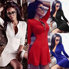 New Summer Womens Casual Skating Dress Evening Party Cocktail Mini Skater Dress