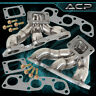 For Jdm Nissan Skyline R32 R33 R34 Gtr Rb26 Twin Turbo Stainless Steel Manifold