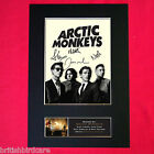 ARCTIC MONKEYS Mounted Signed Photo Reproduction Autograph Print A4 186