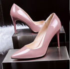 Ladies Womens Sexy Pointed Toe Dress High Heels Stiletto Pumps OL Work Shoes