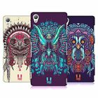 HEAD CASE DESIGNS ETHNIC OWLS HARD BACK CASE FOR SONY PHONES 1