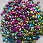 300 x Metallic Acrylic Chip Spacer Beads - Choice of colours - Jewellery making