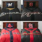 MLB Twin Baseball Jersey Style Comforter Set-Sports Boys Bedroom PICK YOUR TEAM