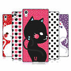 HEAD CASE DESIGNS CATS AND DOTS SOFT GEL CASE FOR SONY PHONES 2