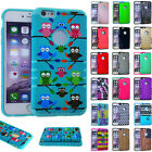 For Apple iPhone 6 6S PLUS - Shock Proof Impact Slim Fit Hard Soft Cover Case