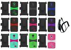 CC + Holster + Hybrid Case Cover for ZTE STRATOS Allstar Z818G Z819C Z819L Z818L