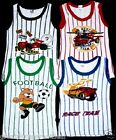 4pk Boys Tank Tops Striped Prints Designs SB NEW Undershirts Infant Toddler Kids