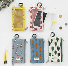 Jam Jam Mobile Pouch Two Way Zipper Card Case Wallet Keyring Key Holder Cute Bag