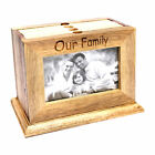 Personalised Stylish Wooden Photo Frame, Engraved Gift for the Family