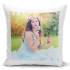 Personalised Luxury Cushion Cover Your Image Photo Logo Text Valentines Gifts